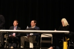 Mike Ginsberg, Chris Marston, and Amber Niblock Shorter